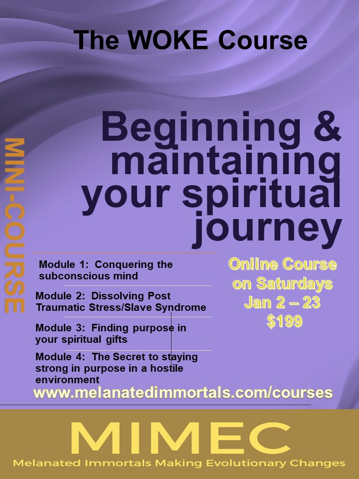 The Woke Course:  Beginning & Maintaining Your Spiritual Journey