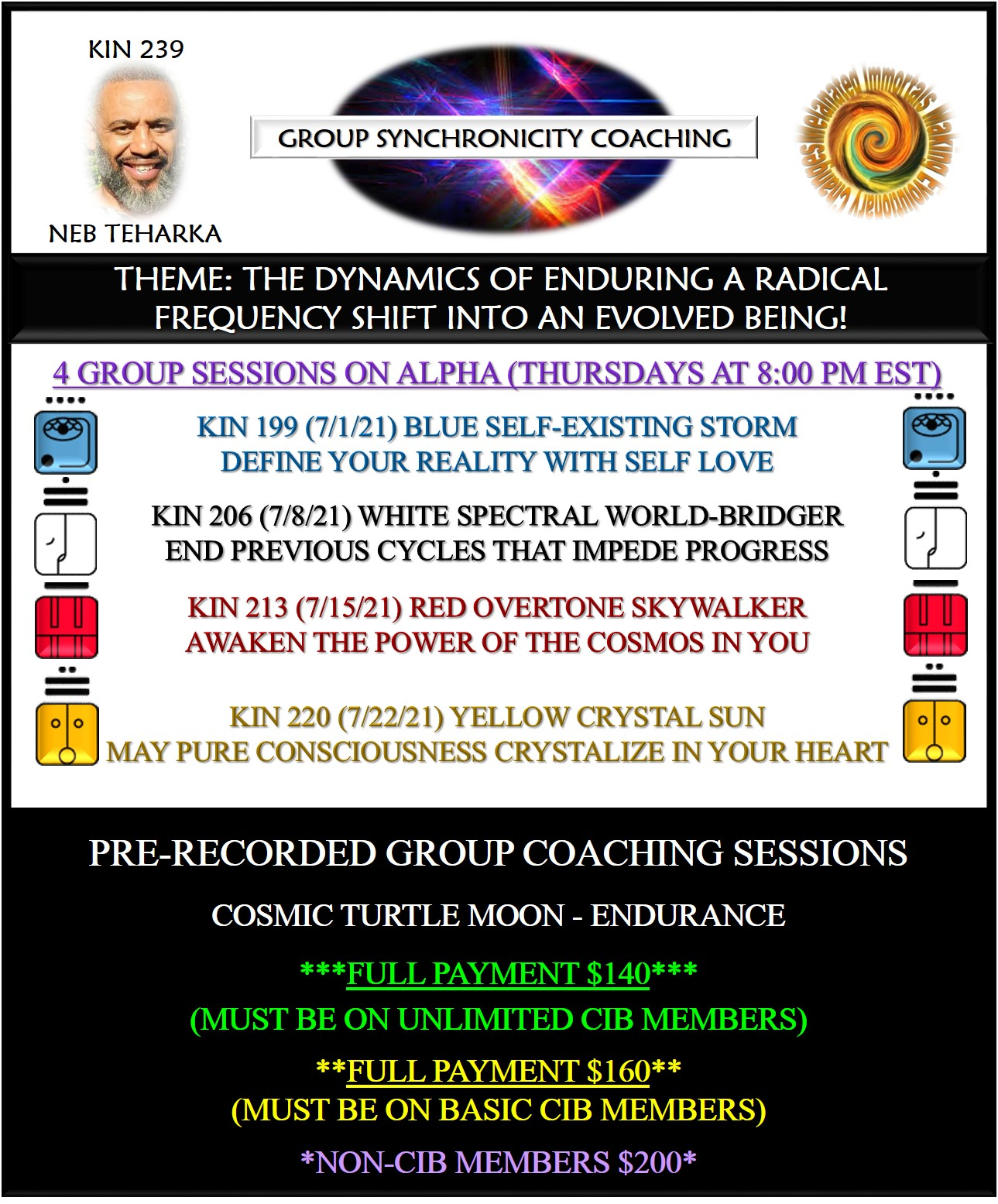Group Synchronicity Coaching – Cosmic Moon Replays